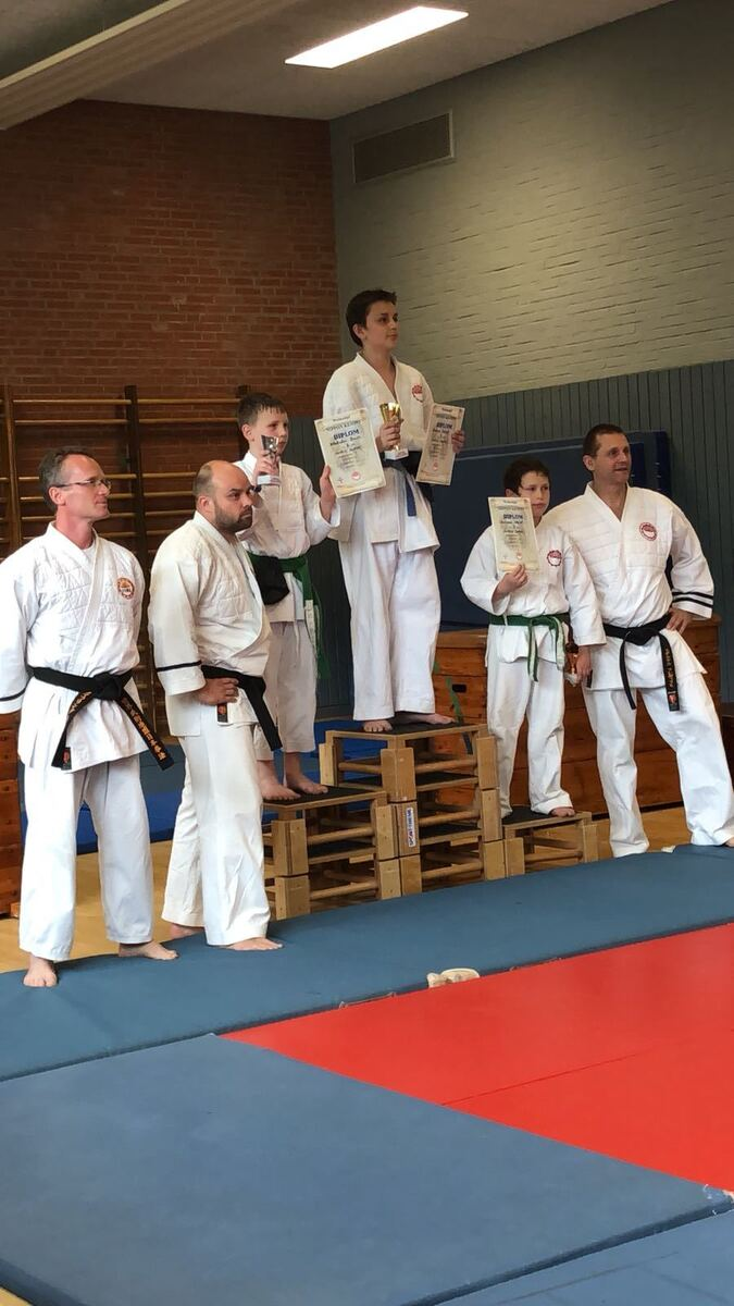 Чемпионы по Самообороне Goshin Jzutsu
